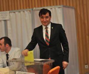 Ahmet Güleç tekrardan başkanlığa seçildi