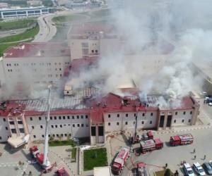 Hastanedeki yangının çıkış sebebi belli oldu