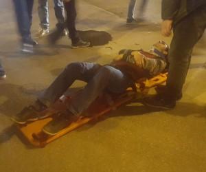 Adliye Kavşağı'nda korkutan kaza