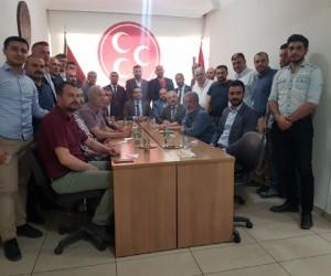 MHP İlçe başkanı Hayati Bedir istifa etti