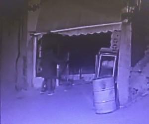 Demir kesme makinesi ile gelip 10 dakikada soydular