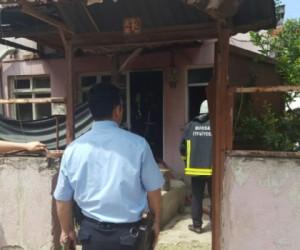 Hamidiye Mahallesinde Yangın