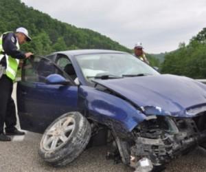 Mezitlerde kaza; 5 yaralı