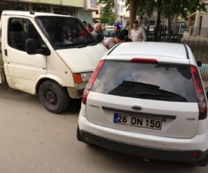 Sinanbey mahallesinde kaza 1 yaralı