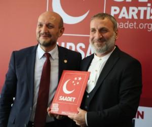 Fikret Bayram Saadet Partisi'nde 2. sıradan aday