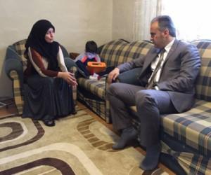 Aktaş Kayra'yı Evinde Ziyaret Etti