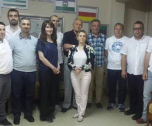 Mustafa Sevim Bursa Çerkez Derneği Yönetiminde