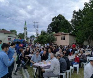 Esenköy'de 1500 kişilik iftar