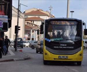 Ramazan bayramında İnegöl'de otobüsler ücretsiz değil