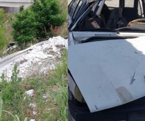 İnegöllü genç kazada ağır yaralandı