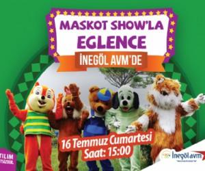 İnegöl AVM Maskot Show İle Hafta Sonu Eğlendirecek!