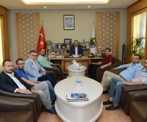 İnbosder'in Yeni Yönetiminden Aktaş'a Ziyaret