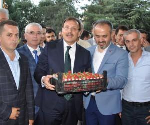 Kurşunlu'da Hakan Çavuşoğlu coşkusu