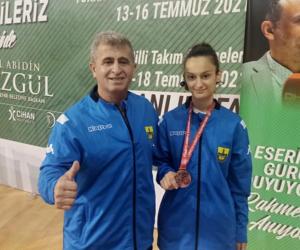 İnegöllü milli sporcu Avrupa şampiyonasına katılıyor