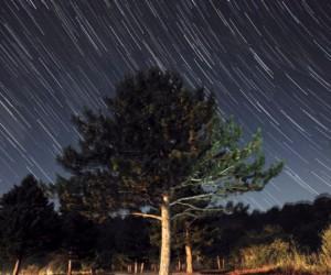 Meteor yağmurunu İnegöl'den böyle görüntüledi