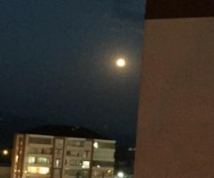 Ay tutulması İnegöl'den de gözlemlendi