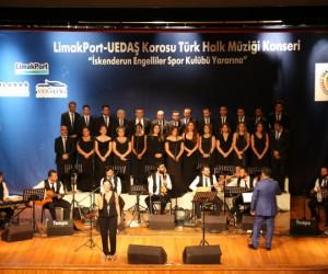 LimakPort ve UEDAŞ'tan İskenderun Engelliler Spor Kulübü yararına konser