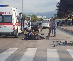Metal Sanayi Kavşağında kaza 1 ölü