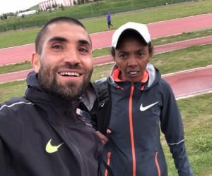 İnegöllü genç, Türkiye için koşacak