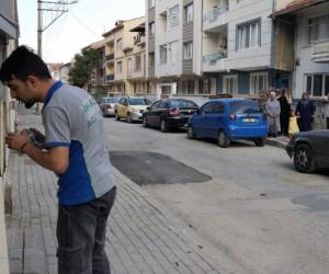 Kemalpaşa Mahallesi'nde doğalgaz sızıntısı yaşandı