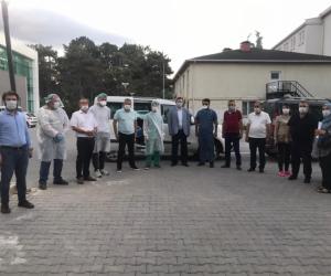 İYİ Parti'den filyasyon ekibine ziyaret