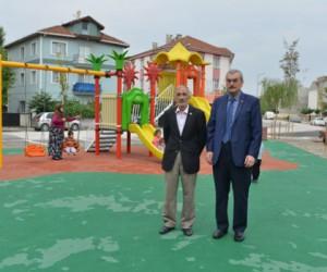 Süleymaniye Mahallesi'ne yeni park