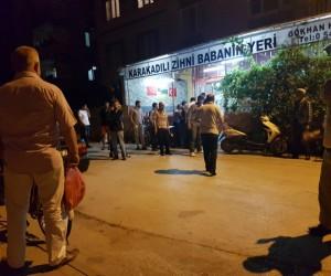 Hamidiye Mahallesinde silahlı kavga 1 yaralı