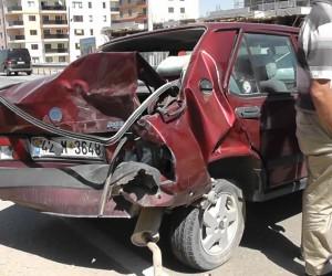 Kulu'da minibüsle otomobil çarpıştı: 1 yaralı