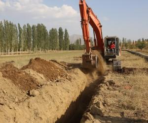 Tufanbeyli Doğanlı Göleti Kapalı Sistem Sulama Projesi tamamlanıyor
