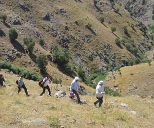 Sason-Muş yolu için kilometrelerce yürüdüler