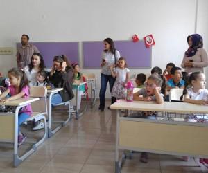 Nevşehir'de 18 bin 250 öğrenci uyum sürecinde derse başladı