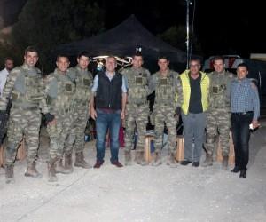 Başkan Güler 'Savaşçı' setine konuk oldu