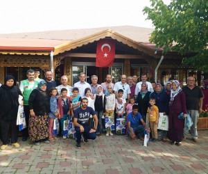 70 çocuk Eynal Kaplıcaları'nda misafir edildi