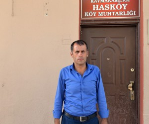 Hasköy Muhtarı Danacı, Başkan Çerçioğlu'na teşekkür etti