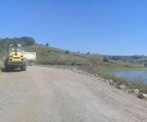 Sipahiler Göleti'nin etrafı güzelleştiriliyor