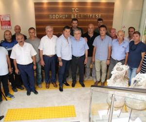 Belediye İş Sendikası Genel Başkanı Yurdakul'dan Başkan Kocadon'a ziyaret
