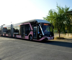 Pembe trambüsler sefere başlıyor