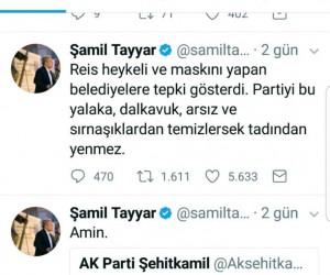 Milletvekili Tayyar'dan, Erdoğan heykeli yapan belediyelere tepki