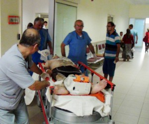 Boğulma tehlikesi geçiren yaşlı adam yaşam savaşını kaybetti