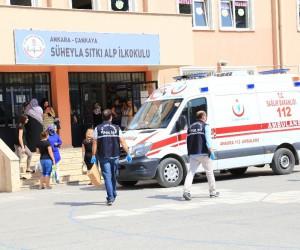 İlkokulda sınıfın tavanındaki alçı çöktü: 3 öğrenci hafif yaralandı