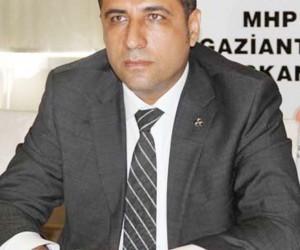 MHP Gaziantep İl Başkanı Yrd. Doç. Dr. Ali Muhittin Taşdoğan: