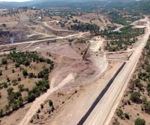 Sarma Göleti hızla ilerliyor