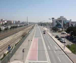 Salim Dervişoğlu Caddesi Trafiği'nde kısa bir ara
