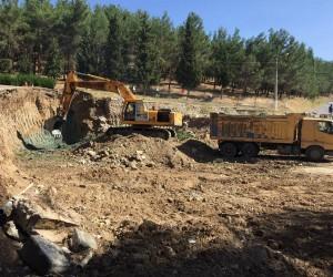 Eynal Kaplıcaları'nda 'Butik otel' inşaatı başladı