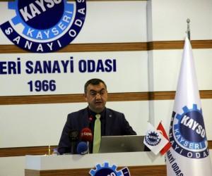 """KAYSO Yönetim Kurulu Başkanı Mehmet Büyüksimitçi: """"Türk ekonomisi 2017 yılının ilk 9 ayında sağlamlığını tüm dünyaya ispatladı"""""""