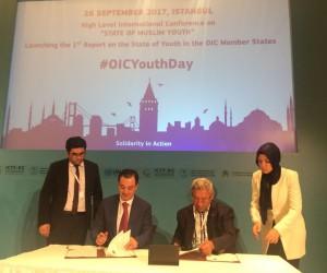 İbn Haldun Üniversitesi ile İslam Konferansı Gençlik Forumu arasında iş birliği anlaşması