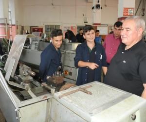 ATSO Başkanı Çetin'den meslek lisesi öğrencilerine  tavsiyeler