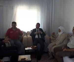 Köyceğiz Kaymakamı Erdinç Dolu, şehit ailesini ziyaret etti