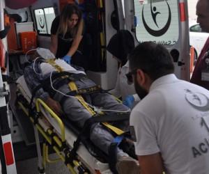 İnegöl'de çatı faciası: 1 ölü, 1 yaralı