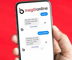 İşte yeni asistanınız İnegöl Online Messenger
